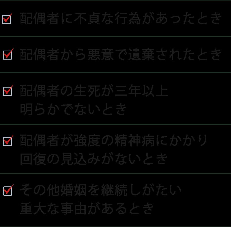 5つのケース 詳細