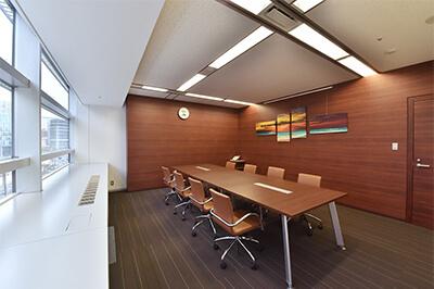 弁護士法人ALG&Associates 福岡法律事務所 応接室