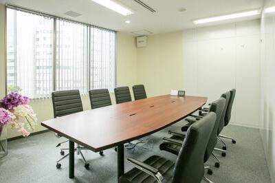 弁護士法人ALG&Associates 大阪法律事務所 応接室