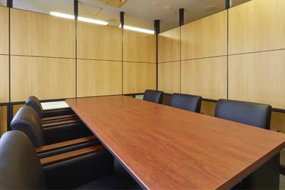 弁護士法人ALG&Associates 宇都宮法律事務所 応接室