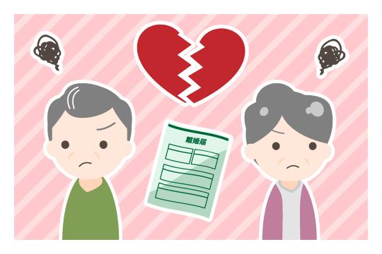 熟年離婚の原因(浪費癖)